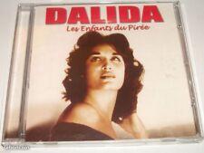 CD Dalida Les Enfants du Pirée 20 titres NEUF sous cellophane