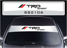 SS2106 Toyota TRD SPORT sun strip graphics stickers decals sunstrip Yaris Hilux