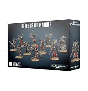 Chaos Space Marines Warhammer 40k 43-06 BNIB