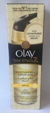 OLAY TOTAL EFFECT 7 IN 1 ANTI-AGEING MOISTURISER AND SERUM DUO SPF 20 - 40ml