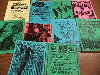 Battalion Of Saints Repo Concert Flyer Lot D.O.A. Misfits Broken Bones Exploited