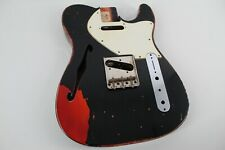 MJT Official Custom Vintage Age Nitro Guitar Body Mark Jenny VTL Black 3lbs 8oz