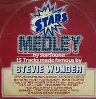 """Star Sound-Stars On Stevie Wonder 12"""" Single.1982 CBS A 13 2041."""