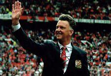 Louis Van GAAL Manchester United Manager Signed Autograph 12x8 Photo AFTAL COA