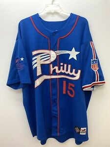 Philadelphia Stars Philly Negro League Baseball Museum Jersey 4XL Vintage NLBM