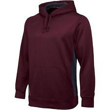 Nike Mens Dry Fit KO 2.0 Hoodie Sweatshirt Maroon 621940 691 Size Large New NWT