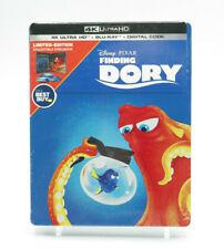 Finding Dory Steelbook 4K Ultra HD & Blu-ray New Sealed Free Shipping