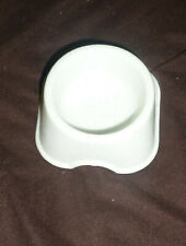 VGUC Lixit Nibble Food Bowl Small, White