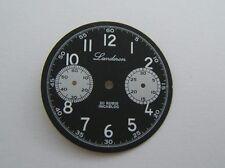 CADRAN PANDA LANDERON TYPE MILITAIRE POUR SEAGULL TY2901 DIAMETRE 30MM N.O.S.