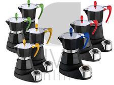 MACCHINA CAFFE ELETTRICA CONTIMER COLORATA MOKA E CIALDE CAFFE ESPRESSO 4 TAZZE