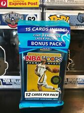 2019-2020 PANINI NBA HOOPS PREMIUM STOCK CELLO PACK 15 CARDS JA? ZION? EXP POST