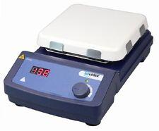 "Scilogex HP550-S LED Digital 7"" Square Magnetic Hotplate w/ Ceramic Glass Plate"