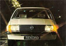 Prospetto/brochure OPEL REKORD 07/1977 +++ +++ Paesi Bassi