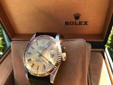 Rolex data solo Automatico Oro Lunetta/Champagne Dial ref. 16000 #VERY RARO