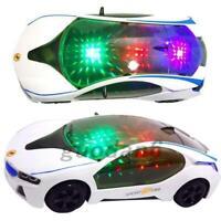 3D CAR SPECIAL LIGHTS BOYS MUSICAL RACING KIDS TOY BIRTHDAY&CHRISTMAS UK