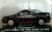 Alfa Romeo 155 Twin Spark 1.8 1992 Carabinieri - Scala 1:43 - Atlas - Nuovo
