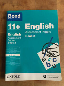 NEW BOND 11+ English Assessment Papers Book 2 - Age 9-10 Years