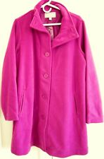 Woman Within Fleece Lined Coat, 14/16, Pink, New w/o tags