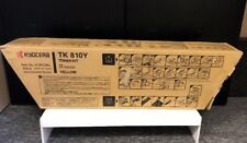 Genuine Kyocera TK-810Y Yellow Toner Kit *** NEW & FACTORY SEALED ***