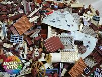 LEGO (x3400pcs) 4KG Wild West Cowboy & Indian MOC Part Packs - Bulk Creativity!