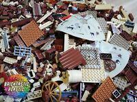 LEGO (x1700pcs) 2KG Wild West Cowboy & Indian MOC Part Packs - Bulk Creativity!