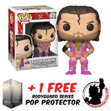 FUNKO POP WWE RAZOR RAMONE VINYL FIGURE + FREE POP PROTECTOR