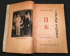 1948 JAPAN TODAY Pictorial Guide Culture~B&W Photos Occupation Allied Forces