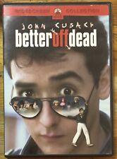 Better Off Dead Ex Rental Dvd John Cusak Diane Franklin David Ogden Stiers