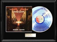 STATUS QUO BACK TO BACK WHITE GOLD SILVER  PLATINUM TONE RECORD LP  ALBUM RARE
