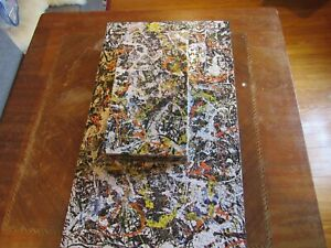 Vintage Springbok Jigsaw Puzzle  CONVERGENCE / Jackson Pollock ~ Complete