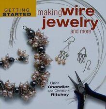LIVRE/BOOK : Fabrication de fils bijoux pour faire soi même (making wire jewelry
