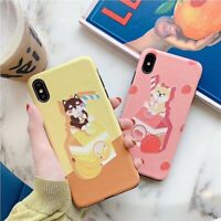 Fashion Relief Shiba inu Soft UNBreak Phone Case Cover For Apple iPhone 6-XS Max