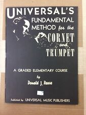 Universal's Fundamental Method for the Cornet and Trumpet (Elementary)