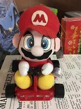 Nintendo Super Mario Kart Takara Mario Plush 1993 Tagged Mint
