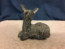 Al Wolf, Soapstone Deer Figurine Hand Made In Canada