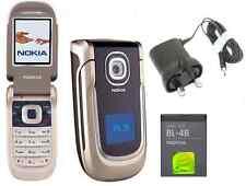 New Condition Nokia 2760 Grey Black Flip Fold Big Button SimFree Unlocked Phone