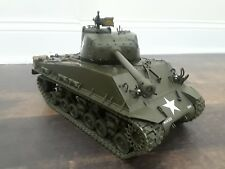 Franklin Mint 1:24 1944 Sherman M4A3E8 General Patton Tank Paper Work No Box