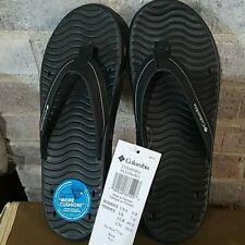 New Columbia Womens Frio River Flip Flops Sandals Size 11 Black