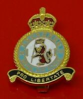 RAF Museum Royal Air Force Enamel Pin Badge No CVI 106 Squadron Pro Libertate