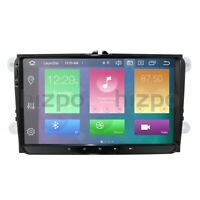 """Octa-Core 9"""" Android 10.0 Car Stereo 4+64GB GPS Radio Car Auto Play TPMS for VW"""