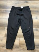 Nike Sweatpants Track Pants Mens Size L Sports Athletic Custom Black