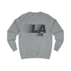 LA84 Men's Retro Sweatshirt, Elliott Smith, Figure 8 Album, Indie Music, NEW