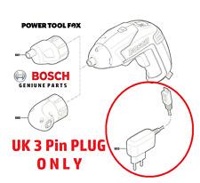 2016 2017 2018 Bosch IXO 5-UK 3 Pin Enchufe Cargador de batería 1600A0048V - 500R #B