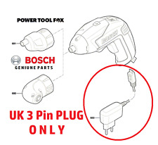 2016 2017 Bosch IXO 5 -- UK 3 PIN plug-Caricabatterie - 1600A0048V - 500R #