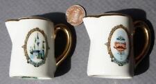 1960s Anaheim California Disneyland Sleeping Beauty Castle teapot salt & peppers