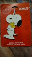 2020 Hallmark Walmart Snoopy and Woodstock Christmas Ornament
