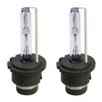 D2S 4300K HID Xenon Light 2 Replacement Bulbs Set 4.3K