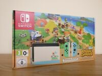 *IN HAND - LIMITED EDITION* Nintendo Switch Animal Crossing Console Bundle