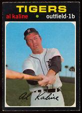 1971 TOPPS OPC O PEE CHEE BASEBALL #180 AL KALINE NM DETROIT TIGERS CARD