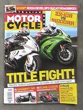 Motorcycle News AMCN Feb 2011 - ZX10R BMW S1000RR HAYABUSA XJR 1300 HARLEY XL 48